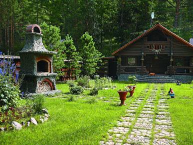 русский стиль в ландшафтном дизайне